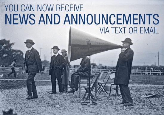 News and Announcements Signup