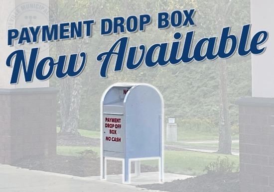 Payment drop box now available